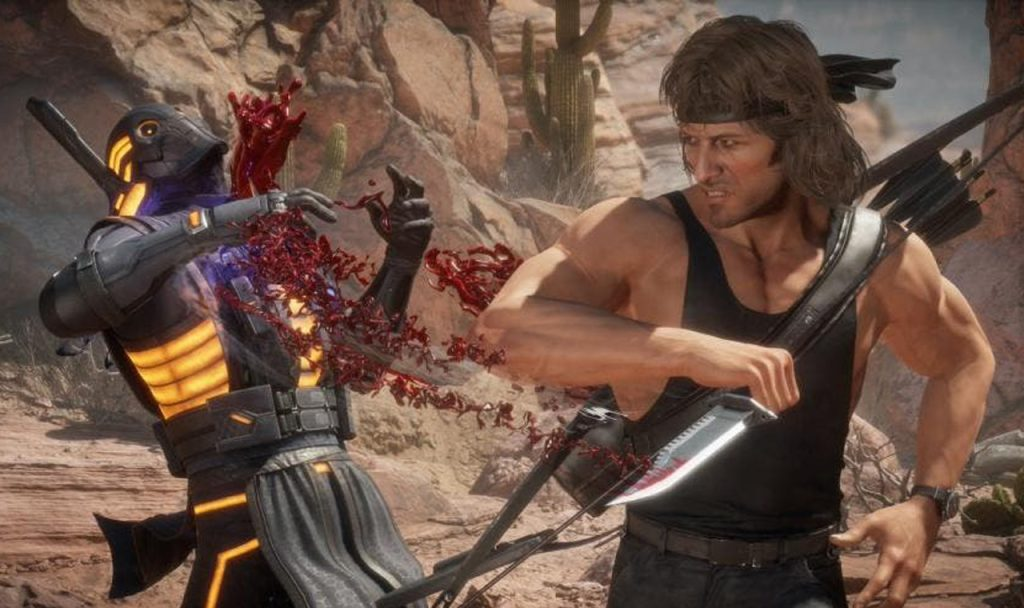 Rambo em mortal kombat 11