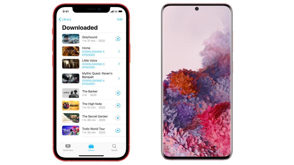 Os últimos aparelhos da apple e samsung vem com 5g, funcionalidade nova que será essencial em celulares para jogos