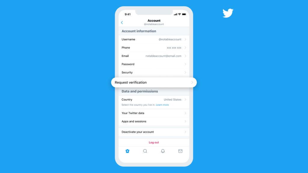 Novo processo de verificação de contas do twitter facilitará a forma de requisitar o selo azul