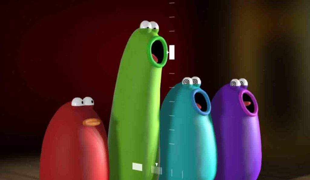 Cantores blobs da ópera blob do google
