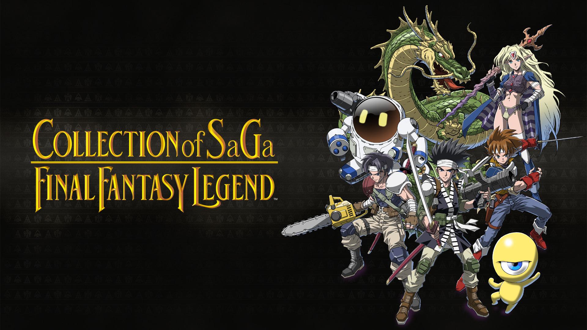 Review: collection of saga final fantasy legend traz de volta uma grande aventura. Collection of saga final fantasy legend traz os três primeiros jogos da franquia saga compilados no mesmo pacote