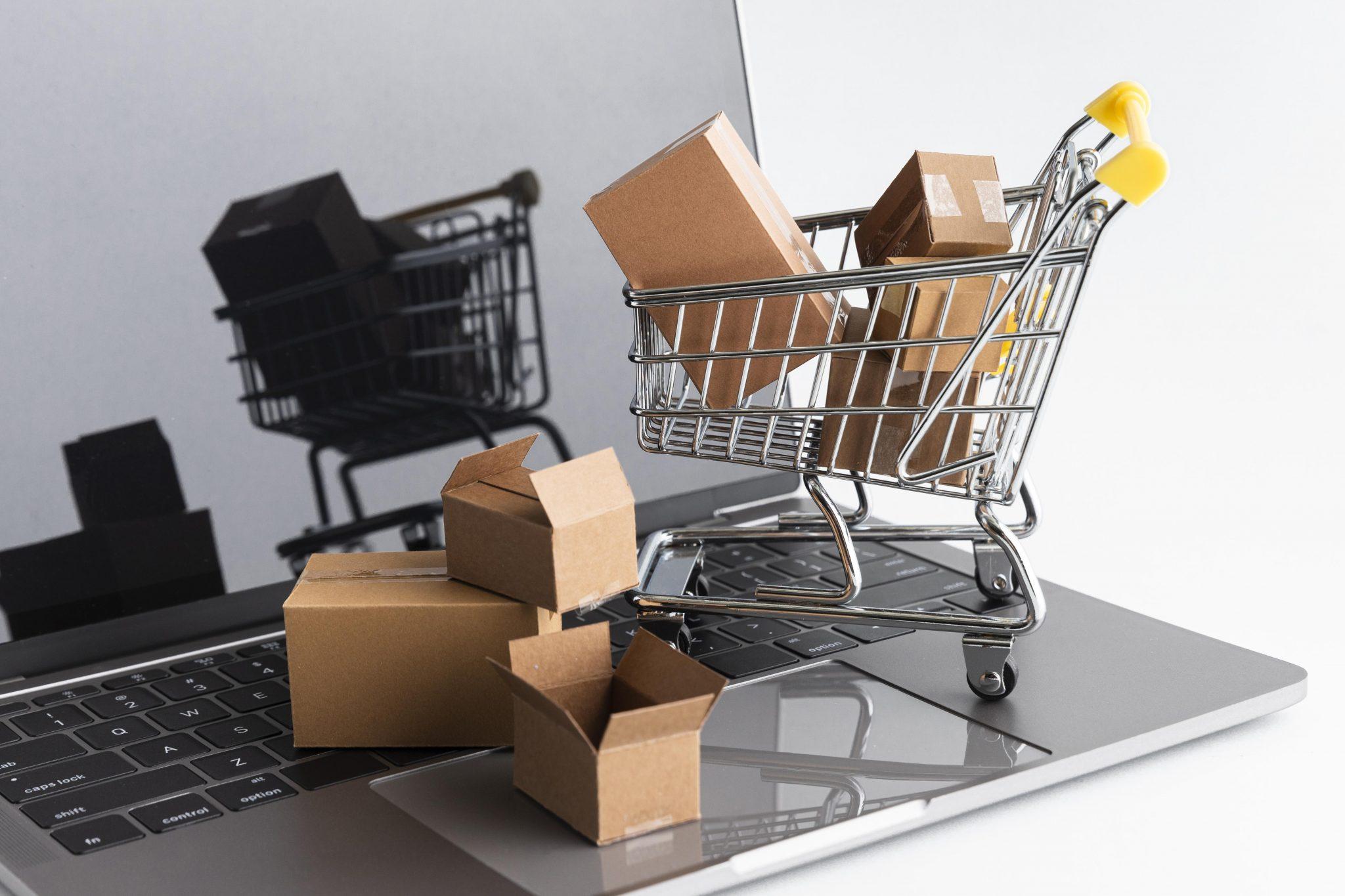 Compras online freepik