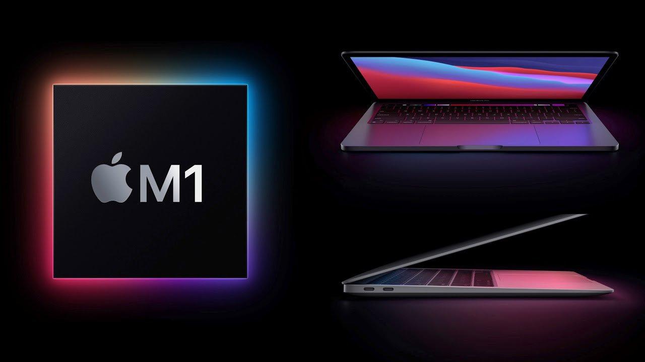 Montagem com macbooks m1, que a qualcomm deveria levar mais a sério
