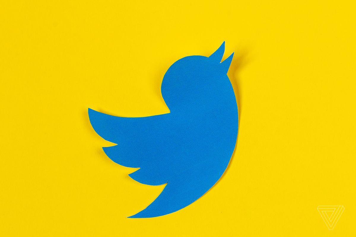 Imagem com logo do twitter