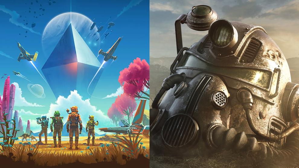 Cyberpunk 2077 no man's sky e fallout 76