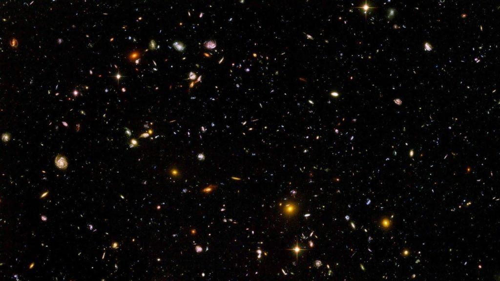 Imagem de galáxias, um dos temas do evento da ibm sobre astronomia