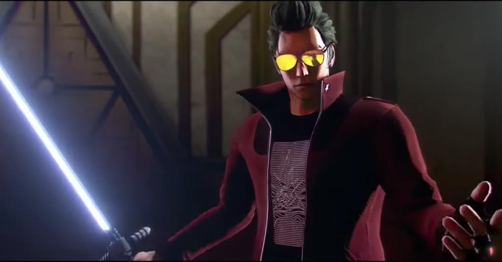 Com gráficos coloridos e ação desenfreada, no more heroes 3 vem suprir a falta de jogos de hack'n'slash para o nintendo switch