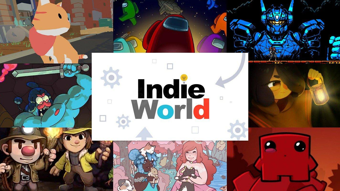 Indie world anuncia among us e outros jogos indie para o nintendo switch. Além de among us, o indie world mostrou diversos jogos indie que serão lançados para o nintendo switch