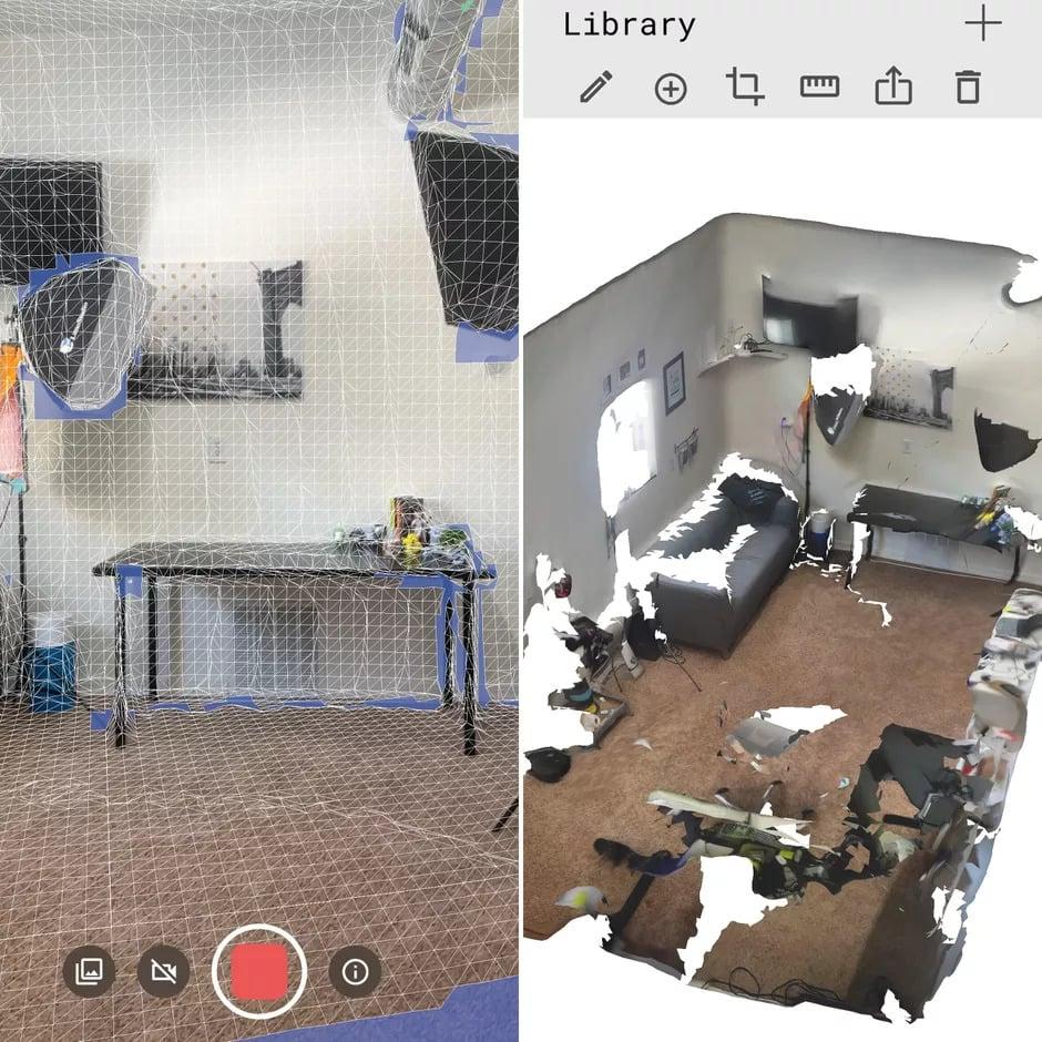 Print do app polycam