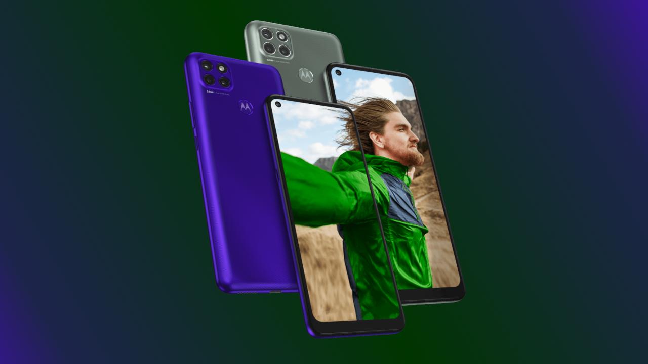 Motorola lança moto g9 power, g 5g e e7 focados na economia da bateria