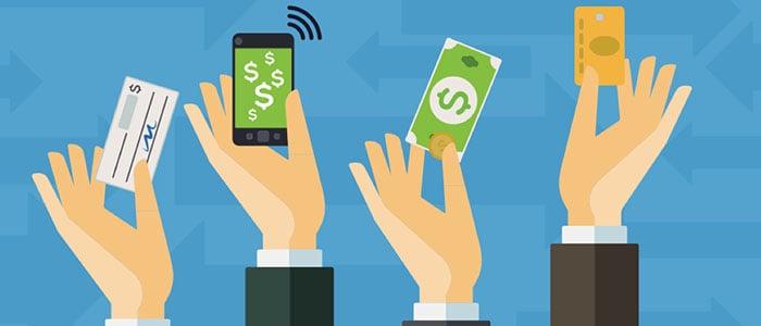 Jogos online aceitam vários métodos de pagamento