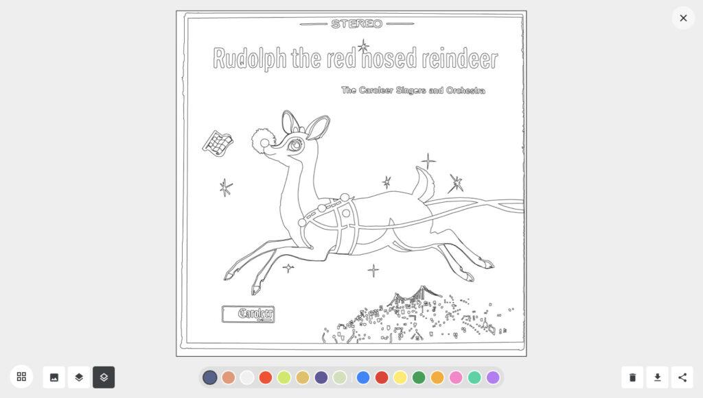 Imagem das obras natalinas no google arts & culture