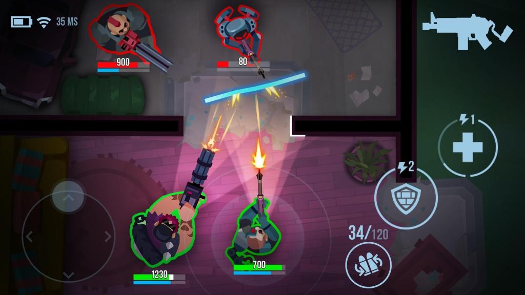 Bullet echo é um dos melhores jogos android 2020