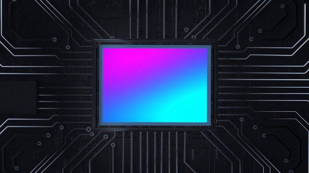 Ilustração de um sensor de 600mp