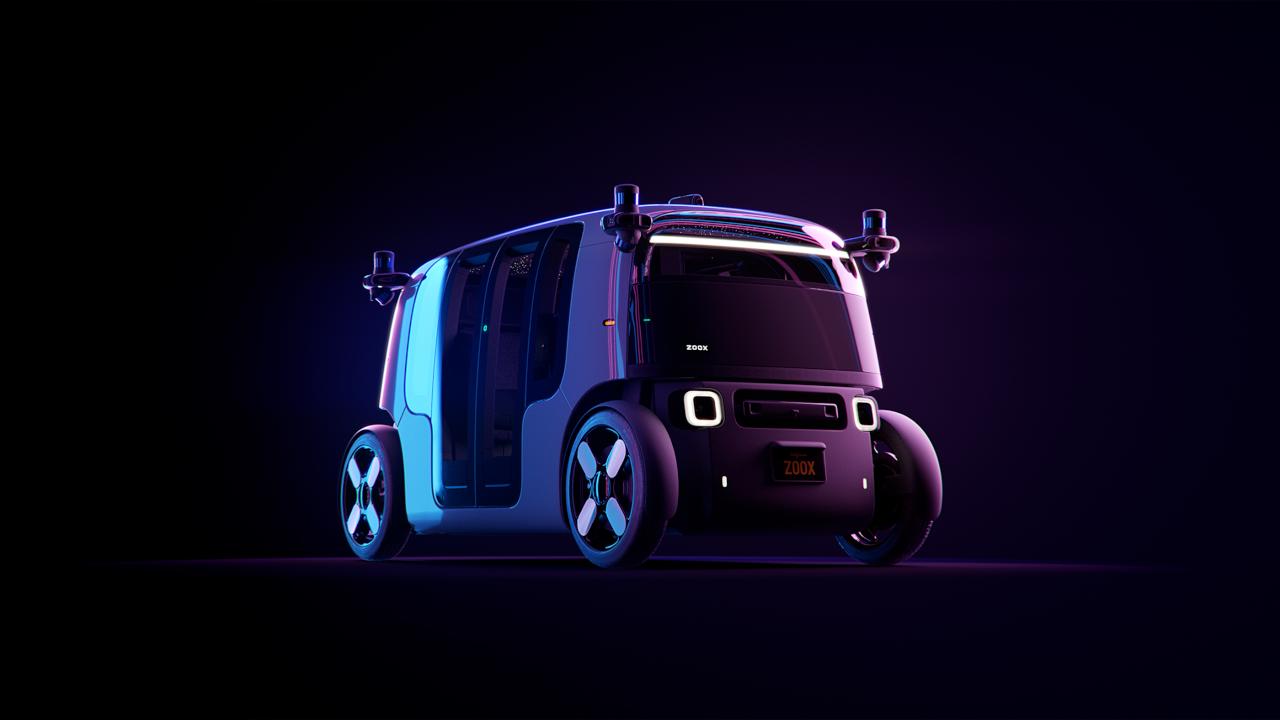Táxi autônomo da amazon é revelado pela startup zoox