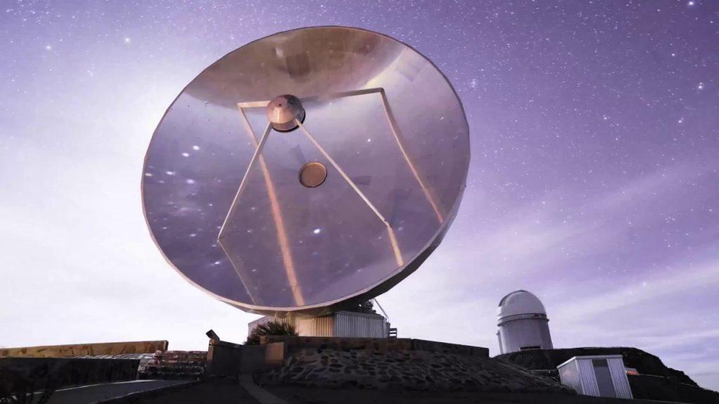 Imagem de telescópio, exemplo de tecnologia abordado no evento da ibm sobre astronomia