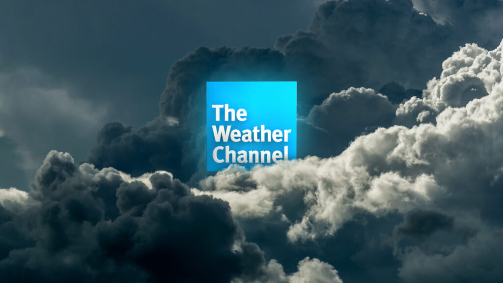 Imagem do the weather channel, um dos temas do evento da ibm