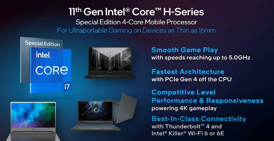 Processadores intel core h-series