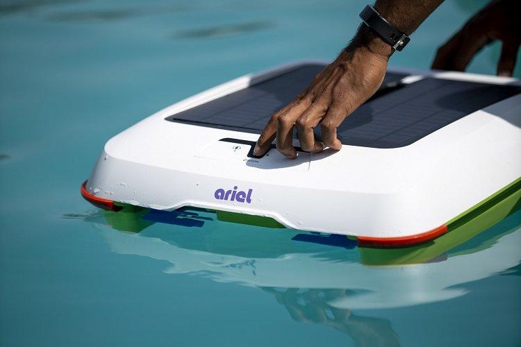 Ariel, um verdadeiro aspirador de pó aquático, está dentre os robôs na ces 2021