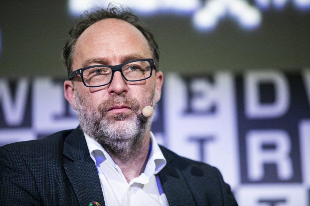 Co-fundador da wikipédia, jimmy wales