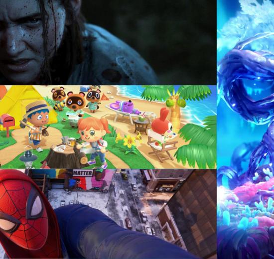 Os 10 melhores games de 2020. Os melhores games de 2020 incluem aventuras pelo submundo dos mortos, lutas samurais e brincar na sua própria ilha tropical