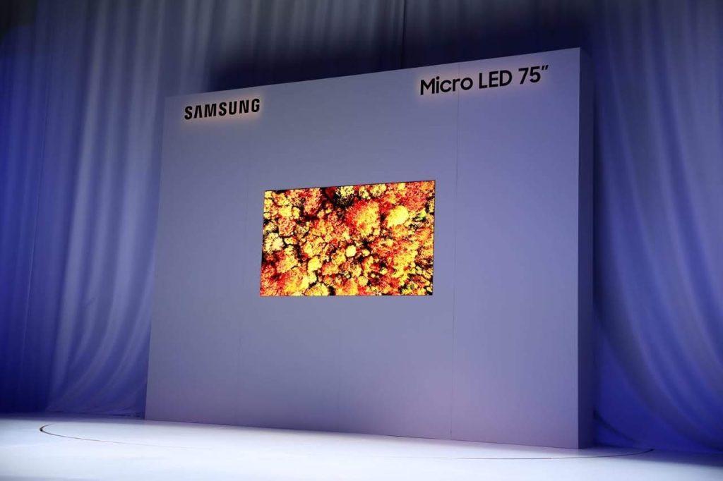Microled deve deixar os protótipos para se tornar realidade nas smart tvs na ces 2021