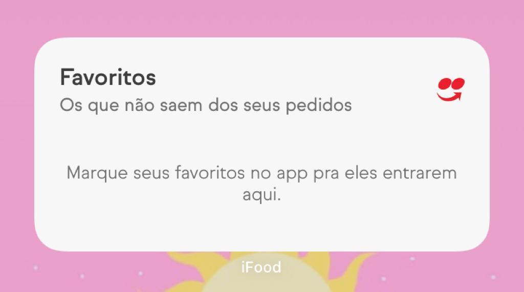 Entre os serviços de delivery no brasil, o ifood foi um dos primeiros a lançar seu próprio widget para ios 14