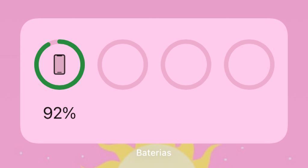 O widget baterias é especialmente útil caso você tenha aplicativos conectados via bluetooth