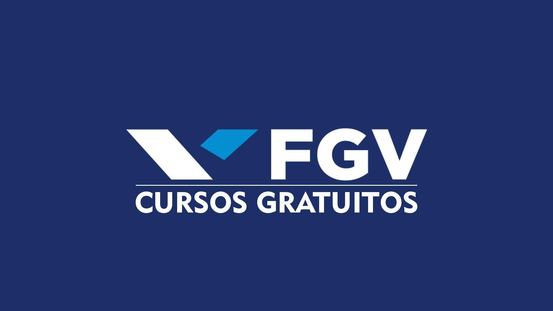 Cursos gratuitos da fgv