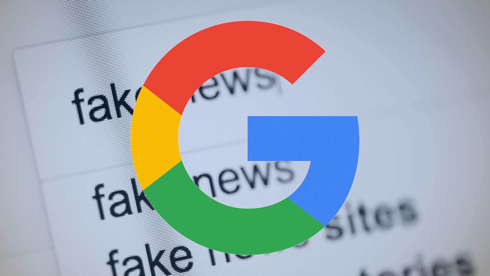 Google cria página que revela como age no combate a fake news