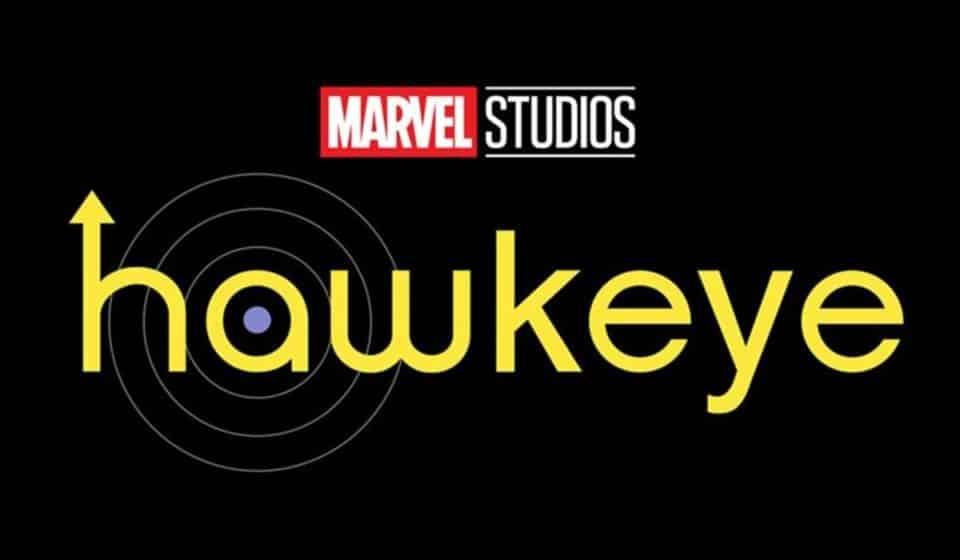Logo da série hawkeye
