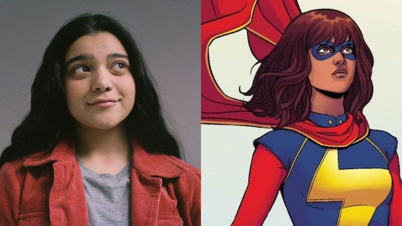 Kamala khan como ms. Marvel