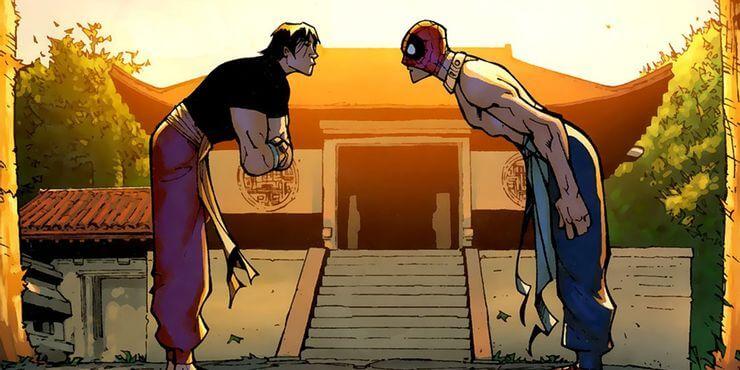 Shang-chi foi responsável por treinar alguns heróis do universo marvel.