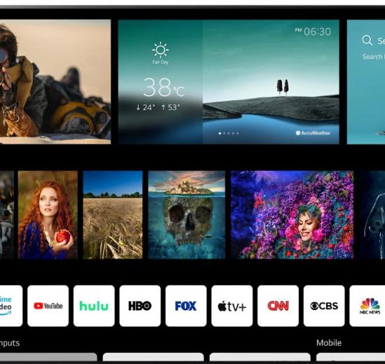 Novo webos da lg tem suporte a controle nfc e novo visual nas smart tvs. O novo webos 6. 0 da lg terá mais funções para comandos de voz com o assistente do google e alexa, além de controle remoto com suporte nfc