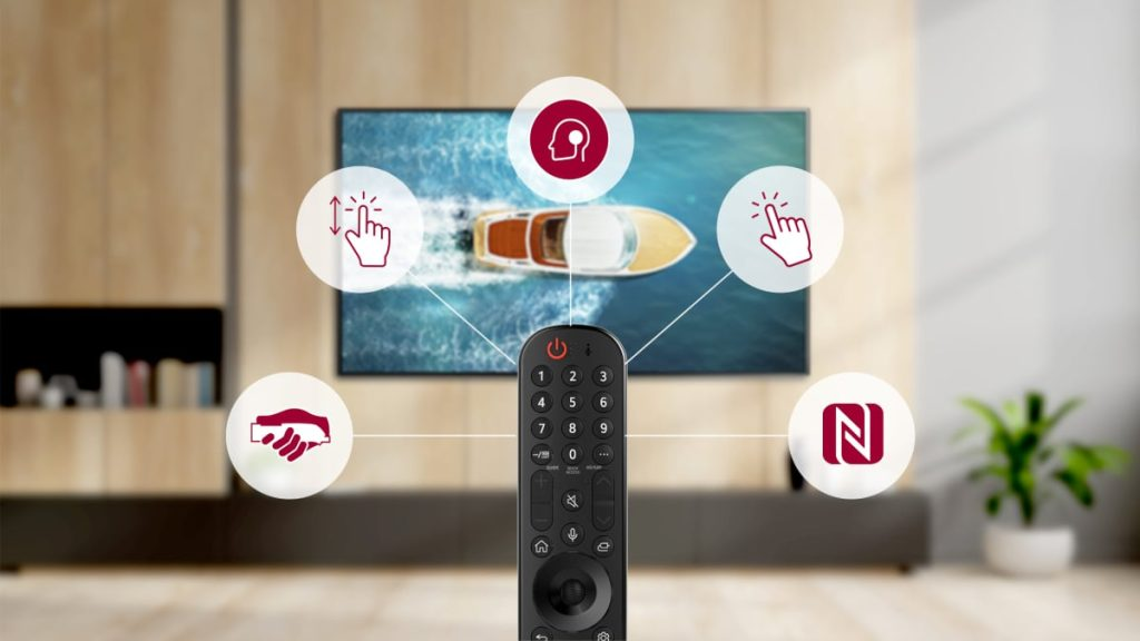 Magic remote com nfc para o novo webos da lg