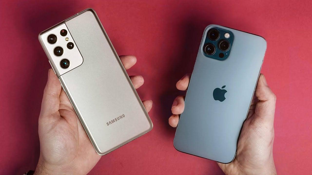 Galaxy s21 ultra vs iphone 12 pro max: qual o melhor celular de 2021?. Comparamos o iphone 12 pro max e o galaxy s21 ultra em telas, design, processadores, câmeras e bateria para descobrir qual o melhor celular de 2021