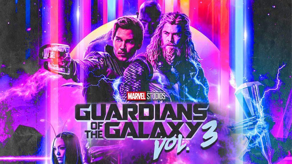 Thor e outros guardiões da galáxia