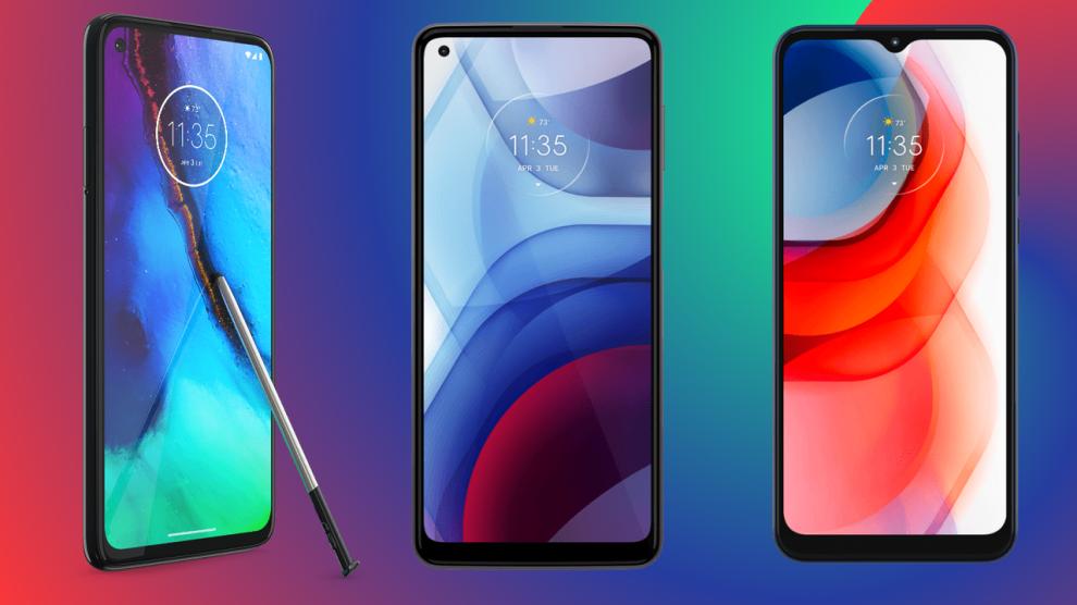 Motorola revela novos celulares moto g stylus, g power e g play
