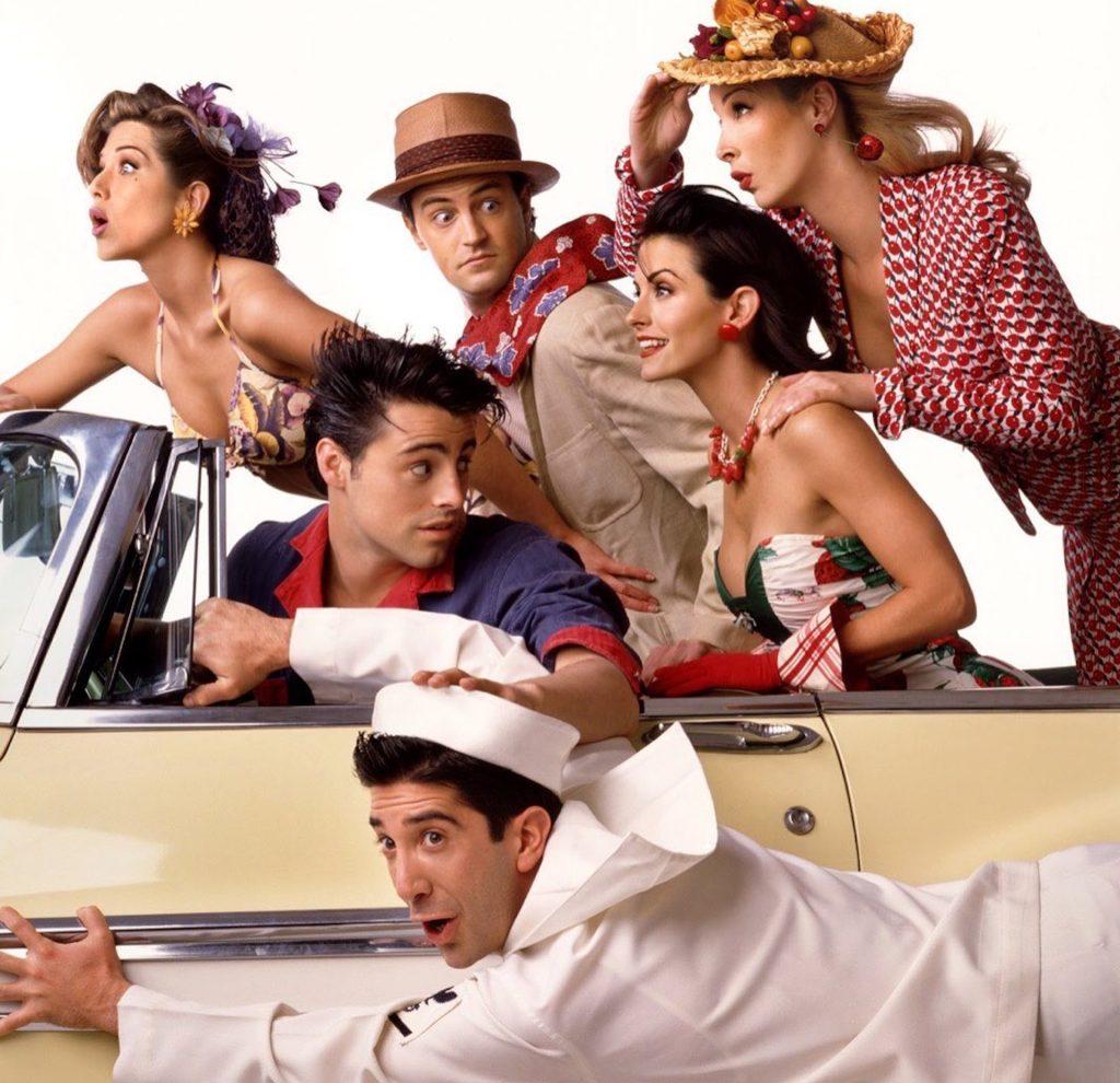 Rachel, phoebe, monica, joey, chandler e ross também querem saber como assistir friends no brasil