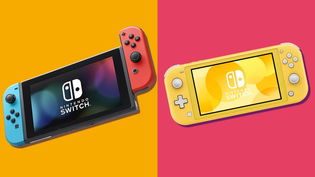Nintendo switch e switch lite