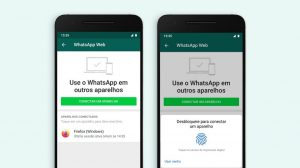 Biometria no whatsapp web