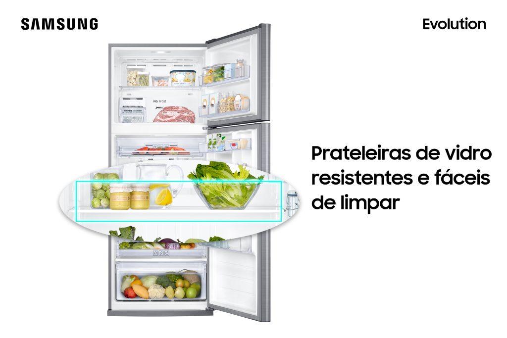 Novas geladeiras samsung evolution são bivolt e resistem a picos de energia. Aliando design e eficiência energética, geladeiras samsung evolution contam com o inovador powervolt, capaz de proteger o eletrodoméstico de picos de energia de até 310v