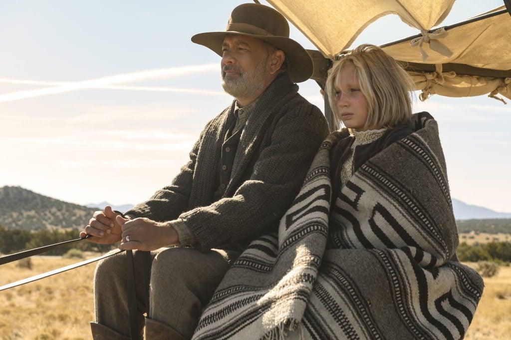 Com tom hanks e helena zengel o filme se passa cinco anos após a guerra cívil americana