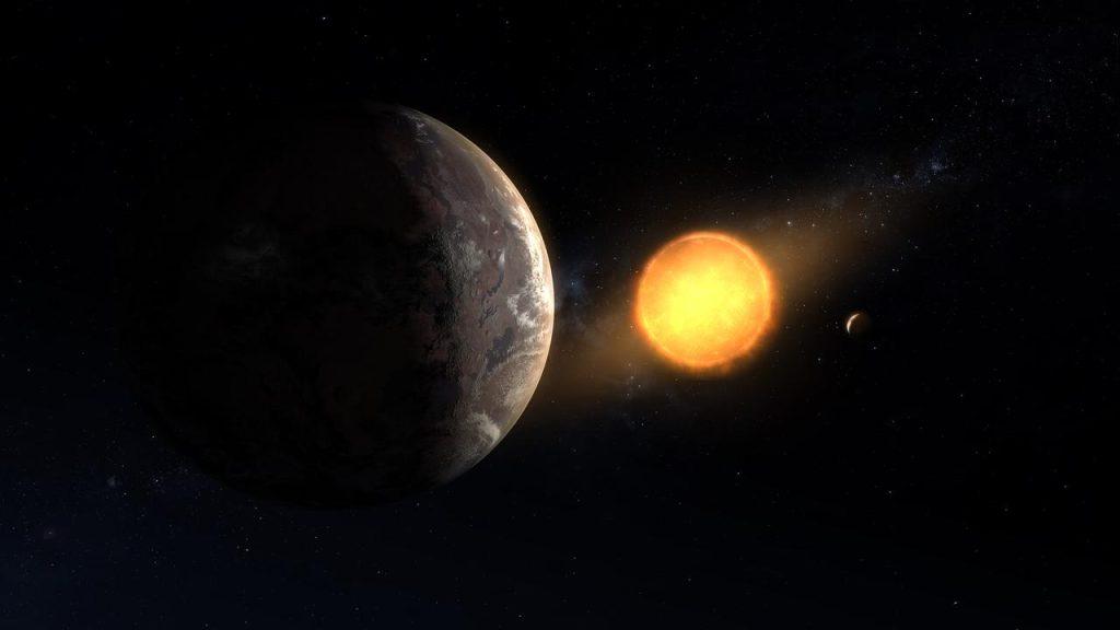 Kepler 1649c, um dos planetas habitáveis mais próximos da terra