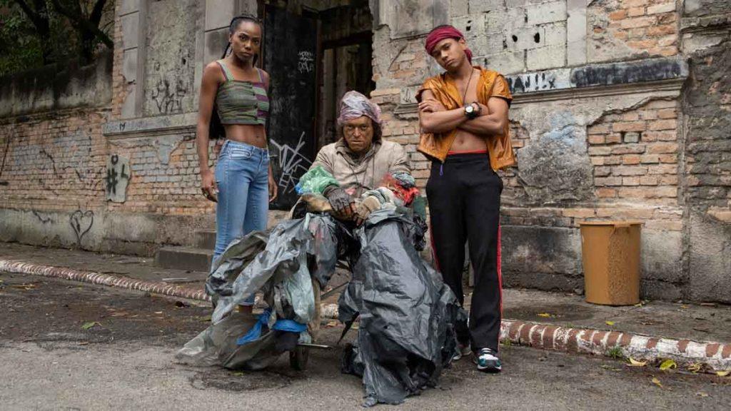 Personagens marginalizados de cidade invisível