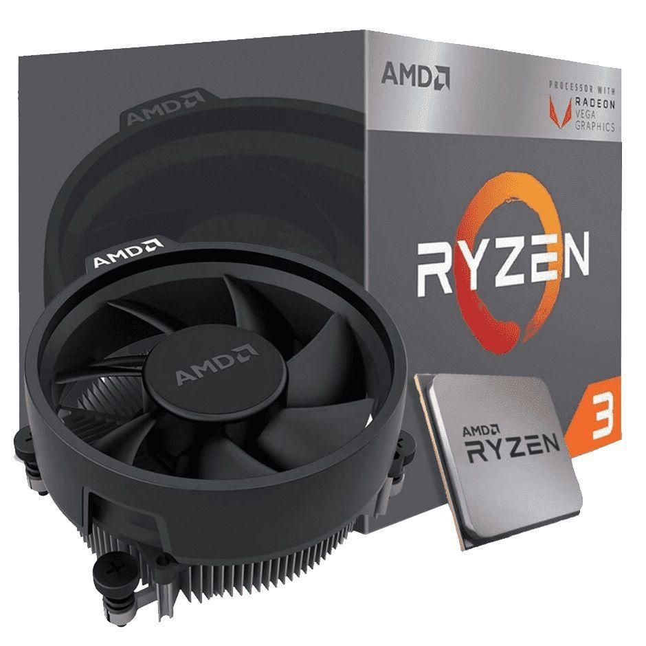 O ryzen 5 3200g é um dos melhores processadores para montar um pc gamer