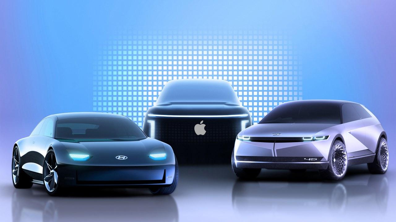 Apple e hyundai devem produzir o apple car em 2025