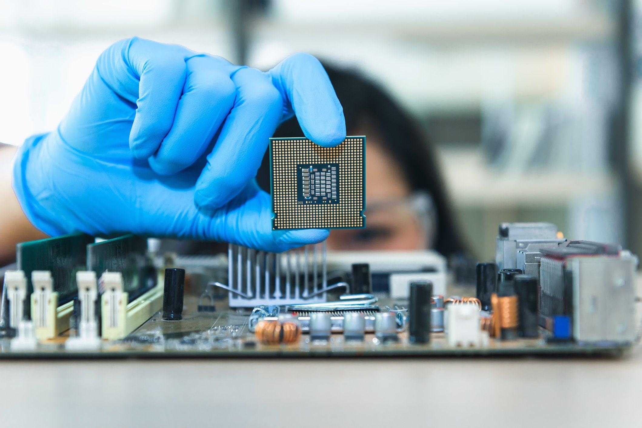 Falta de chips afeta a indústria
