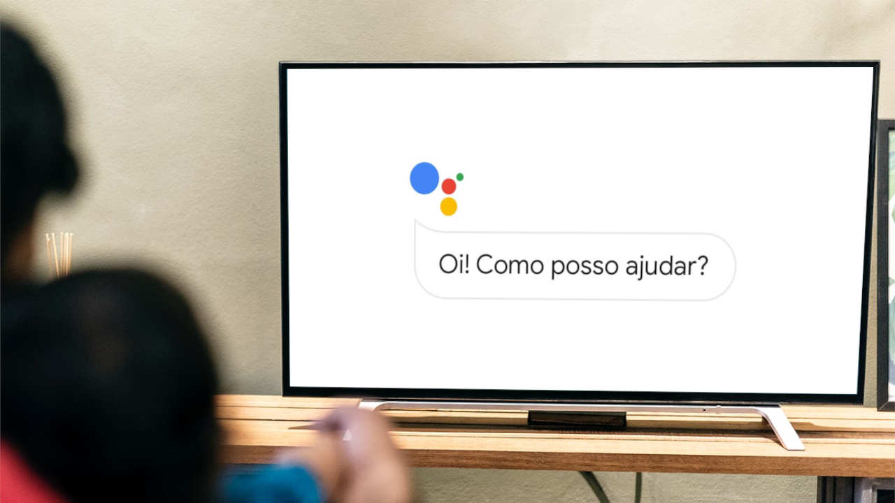 Como usar o assistente do google para assistir à tv