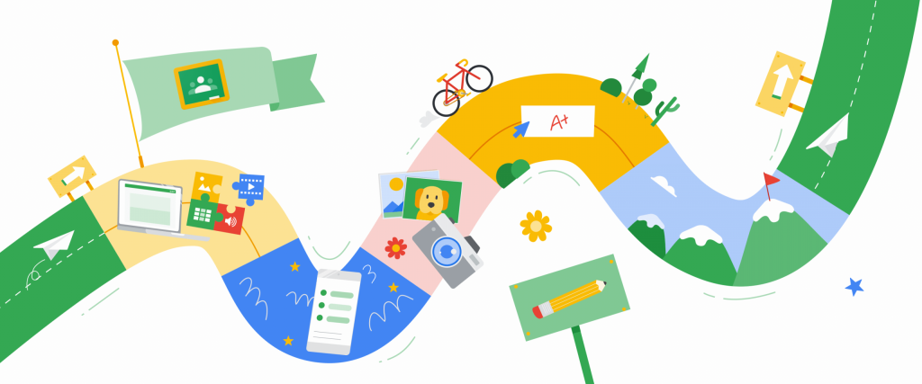 Roadmap learning with google
